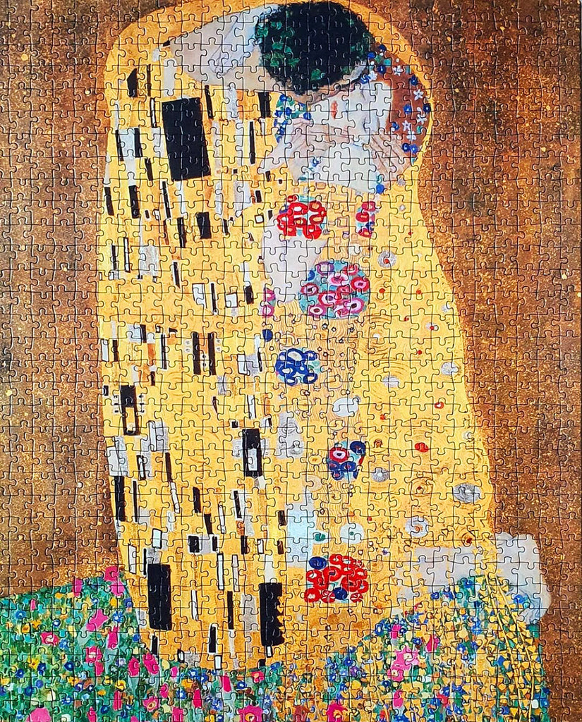 1000-piece Gustav Klimt The Kiss Jigsaw Puzzle - Rest In Pieces