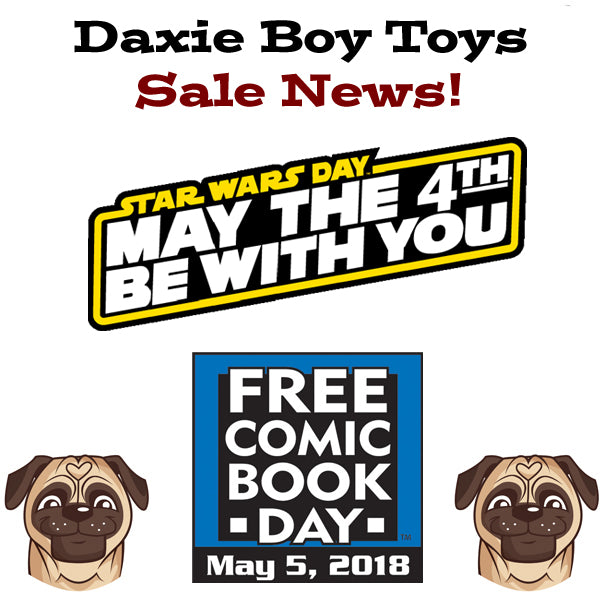 May the 4th and Free Comic Book Day Sale News