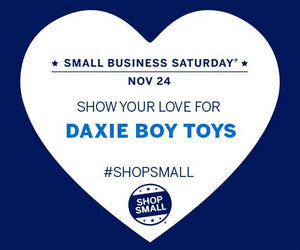 Small Business Saturday at Daxie Boy Toys