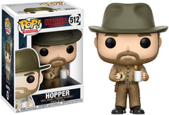 Hopper with Donut Funko Pop