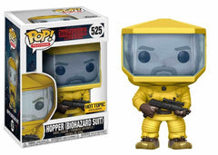 Hopper Biohazard Suit Funko Pop Exclusive