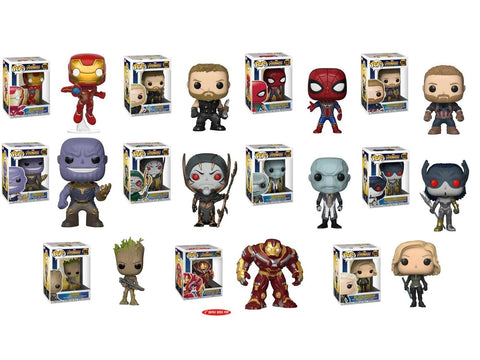 Avengers Infinity War Funko Pop! Marvel Bundle
