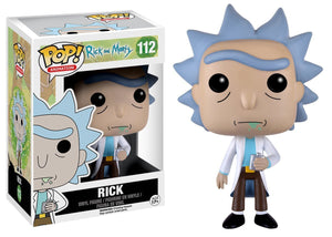 Rick Funko Pop Animation Rick and Morty