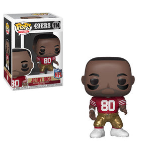 Jerry Rice Funko Pop NFL Legends San Francisco 49ers