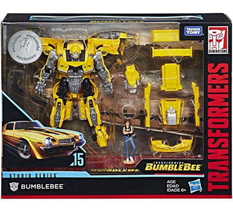 Bumblebee Transformers Studio Series Deluxe Class Exclusive
