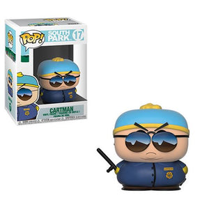 Cartman Officer Funko Pop Television South Park