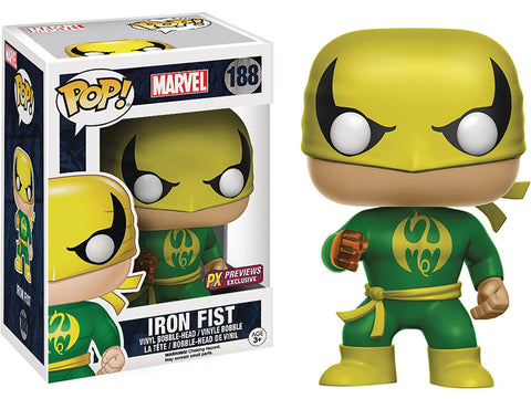 Iron Fist Funko Pop! Marvel Exclusive