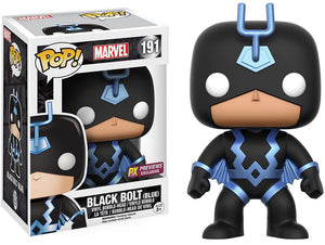 Black Bolt Blue Version Funko Pop! Marvel Exclusive