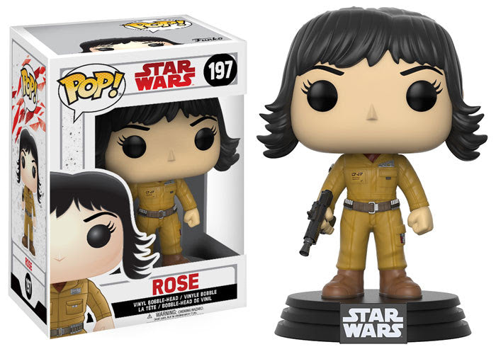 Rose Star Wars The Last Jedi Funko Pop! Vinyl