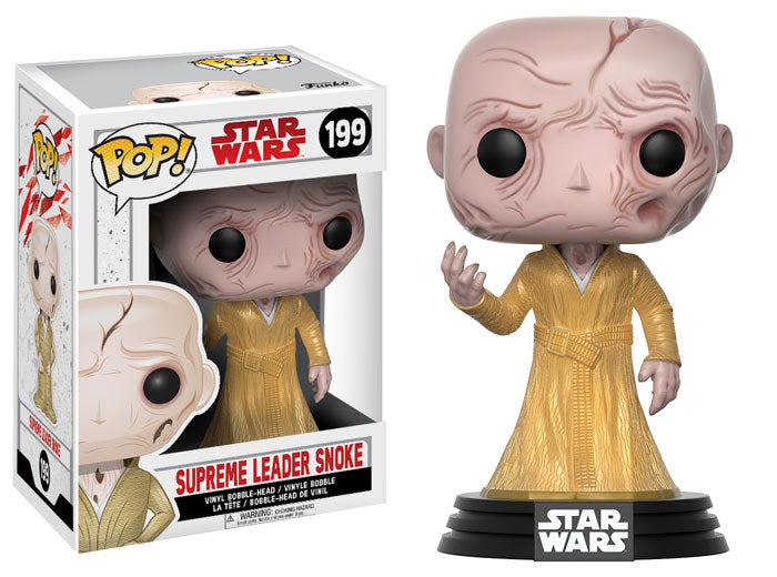 Supreme Leader Snoke Funko Pop! Star Wars The Last Jedi