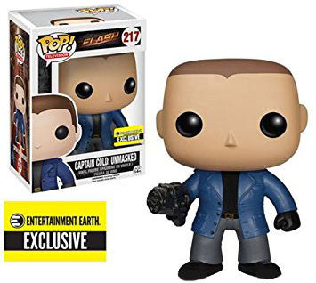 Captain Cold Unmasked Funko Pop! Television Flash Exclusive