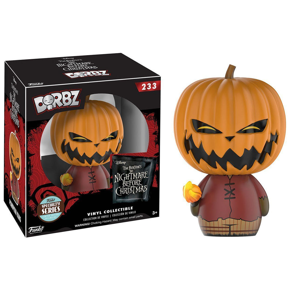 Pumpkin King Funko Dorbz Nightmare Before Christmas Specialty Series