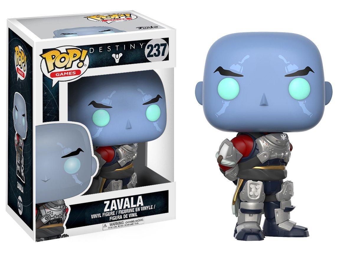 Zavala Funko Pop! Games Destiny 2