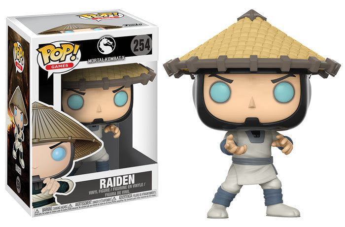 Raiden Funko Pop! Games Mortal Kombat