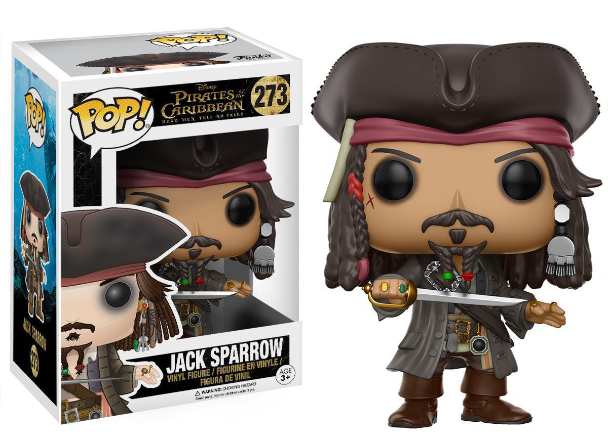 Jack Sparrow Funko Pop! Disney Pirates of the Caribbean