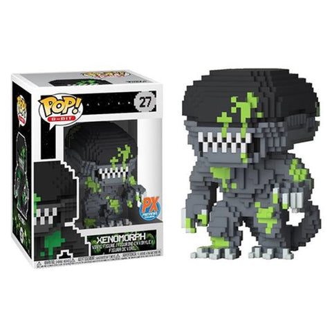 Xenomorph Blood Splattered Funko Pop! 8-Bit Exclusive