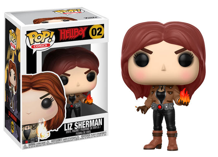 Liz Sherman Funko Pop! Comics Hellboy