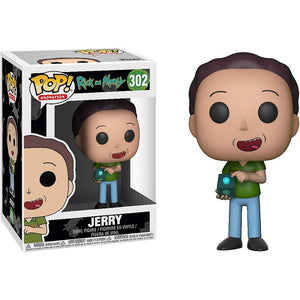 Jerry Funko Pop! Animation Rick & Morty