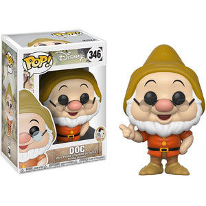 Doc Funko Pop! Disney Snow White and the Seven Dwarfs Not Mint