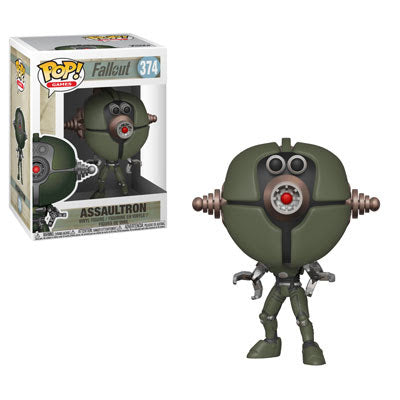 Assaultron Funko Pop Games Fallout