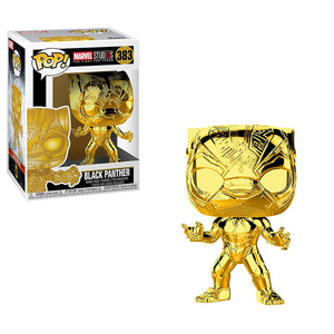 Black Panther Gold Chrome Funko Pop