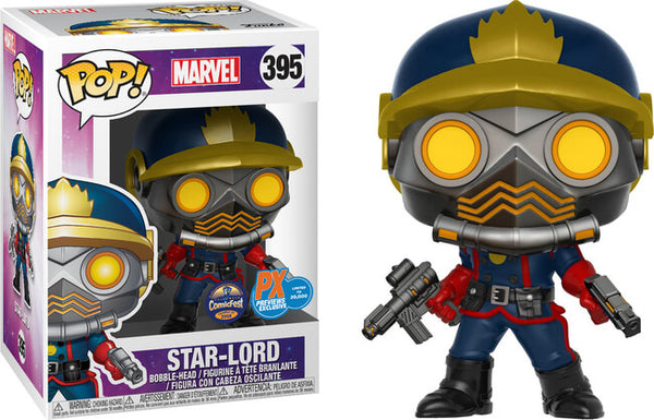 Star Lord Funko Pop! Marvel Guardians of the Galaxy Halloween Comic Fest 2017 Exclusive