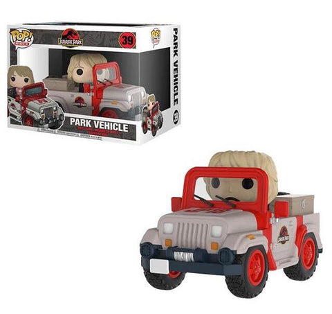 Park Vehicle Funko Pop! Rides Jurassic Park