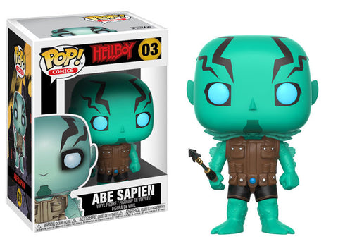 Abe Sapien Funko Pop! Comics Hellboy Not Mint