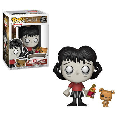 Willow with Bernie Funko Pop Games Don't Starve