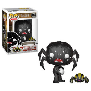 Webber with Spider Funko Pop Games Don't Starve