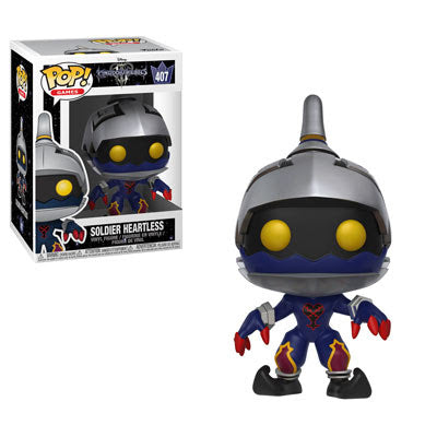 Soldier Heartless Funko Pop Games Kingdom Hearts III