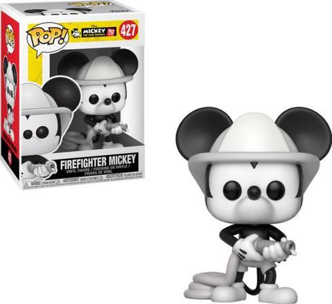 Firefighter Mickey Funko Pop Mickey's 90th Anniversary 12 Days of Daxie