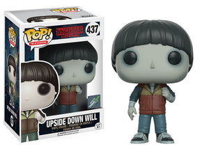 Upside Down Will Funko Pop Stranger Things Exclusive