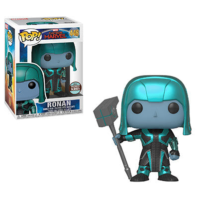 Ronan Funko Pop! Marvel Captain Marvel Specialty Series Exclusive