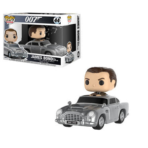James Bond with Aston Martin Funko Pop! Rides