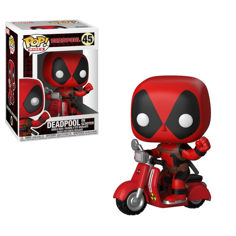 Deadpool on Scooter Funko Pop! Rides