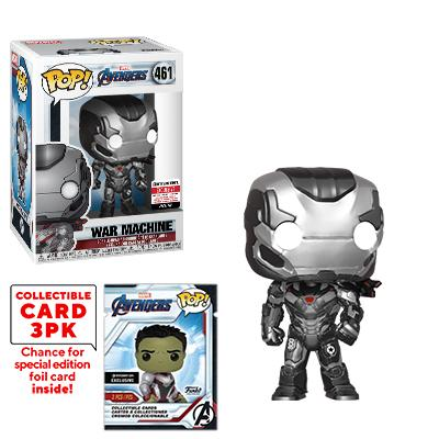 War Machine Exclusive Marvel Avengers Endgame Funko Pop