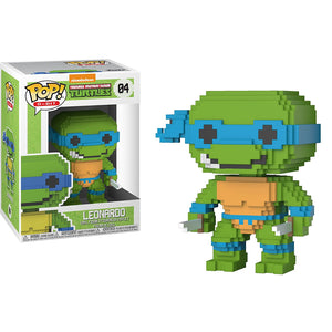 Leonardo Funko Pop! 8-Bit Teenage Mutant Ninja Turtles