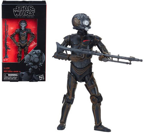 4-Lom Star Wars Black Series 6 Inch Figure