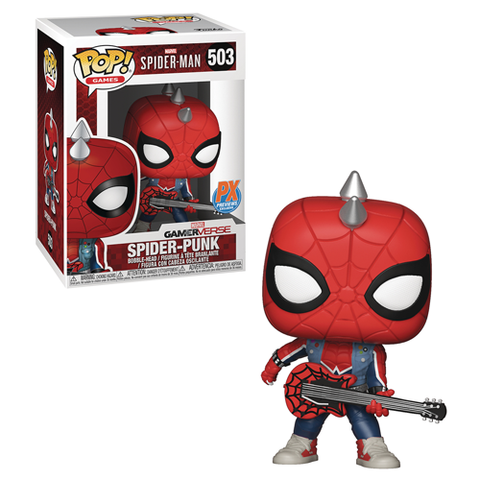 Spider-Punk Funko Pop! Marvel Gamerverse PX Exclusive