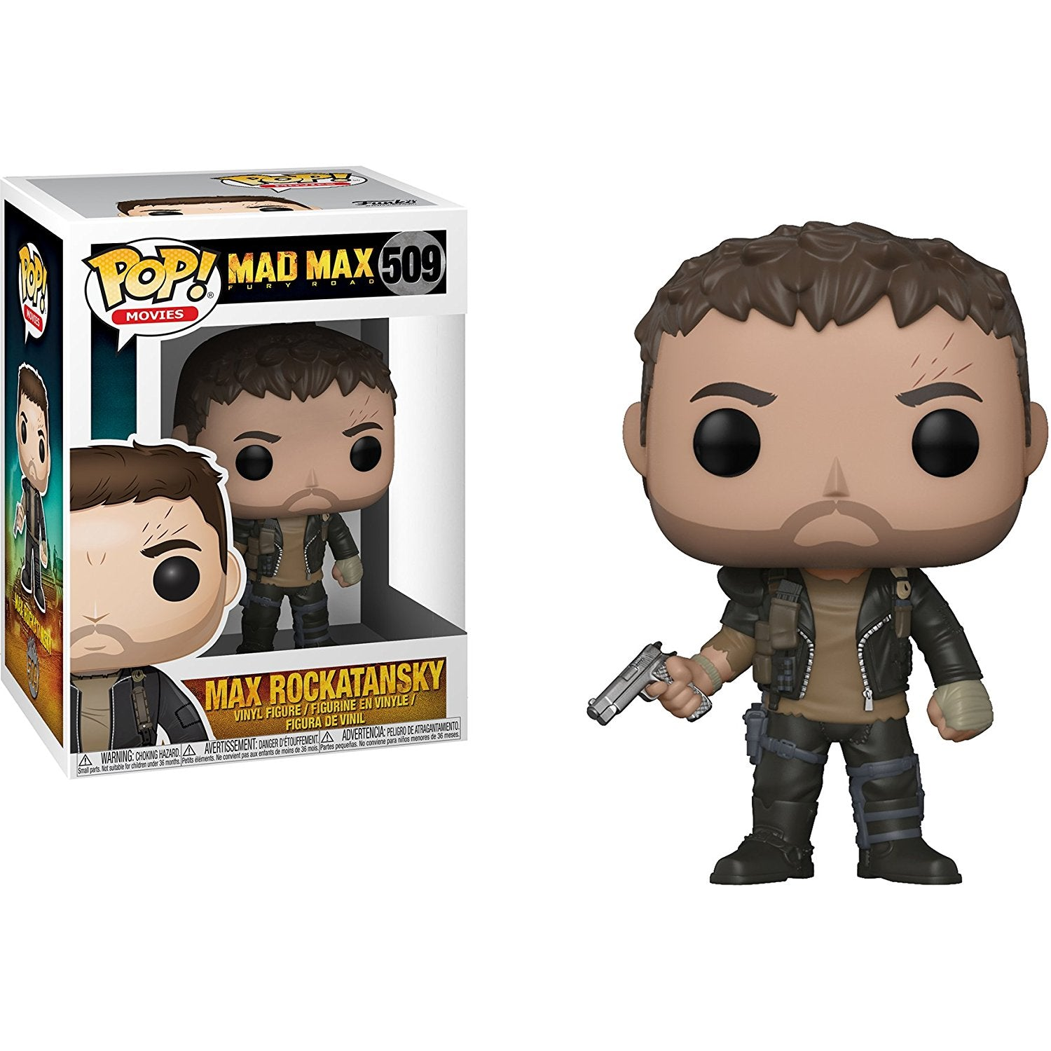 Max Funko Pop! Movies Mad Max Fury Road