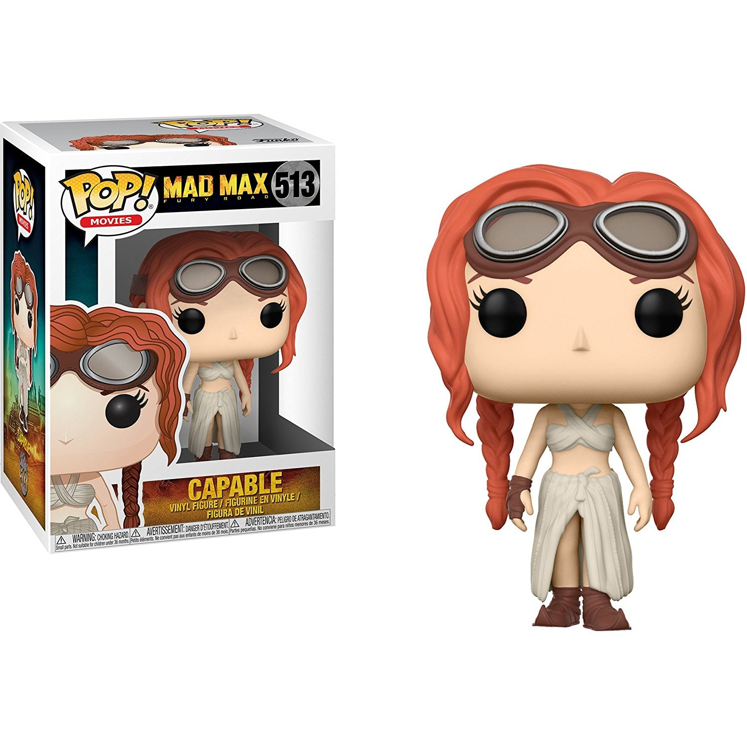 Capable Funko Pop! Movies Mad Max Fury Road