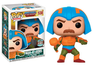 Man-At-Arms Masters of the Universe Funko Pop! Specialty Series