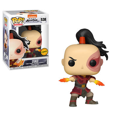 Zuko Avatar the Last Airbender Chase Funko Pop