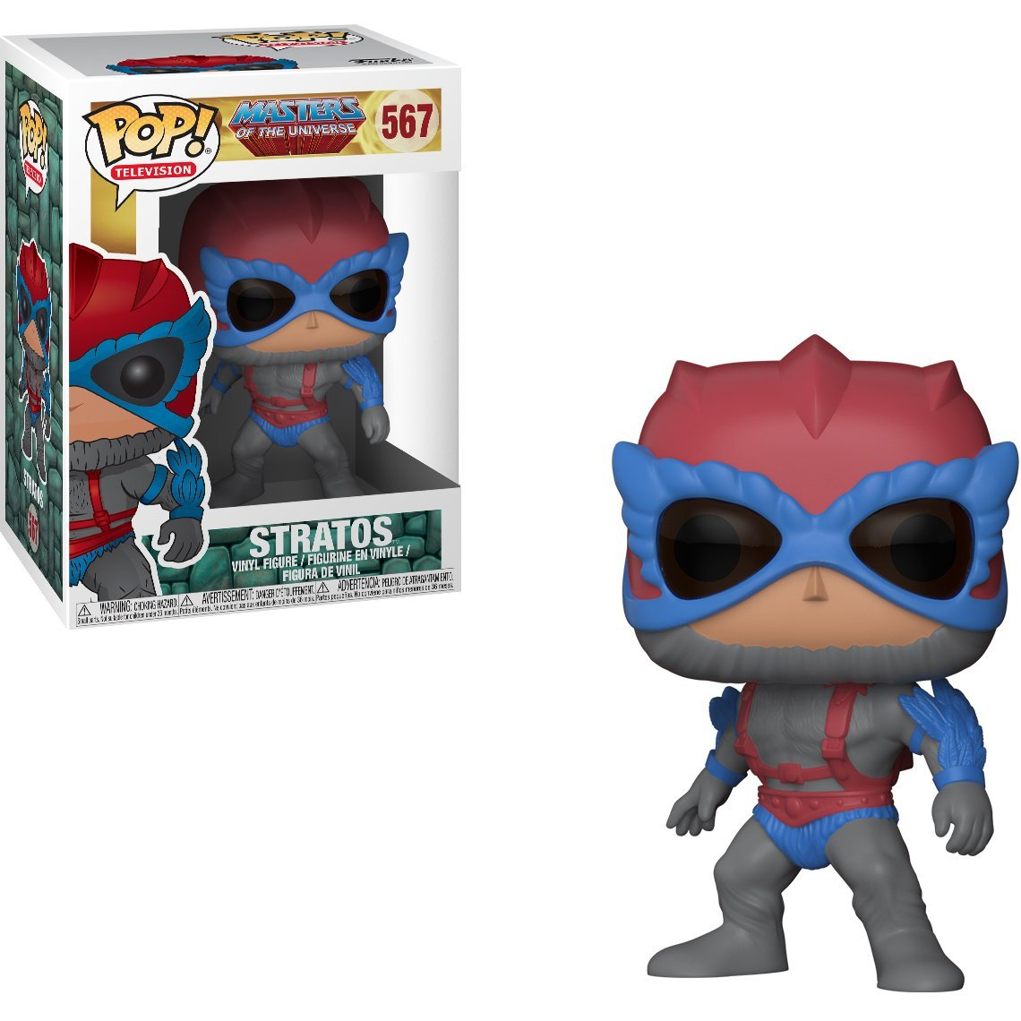 Stratos Funko Pop! Television Masters of the Universe