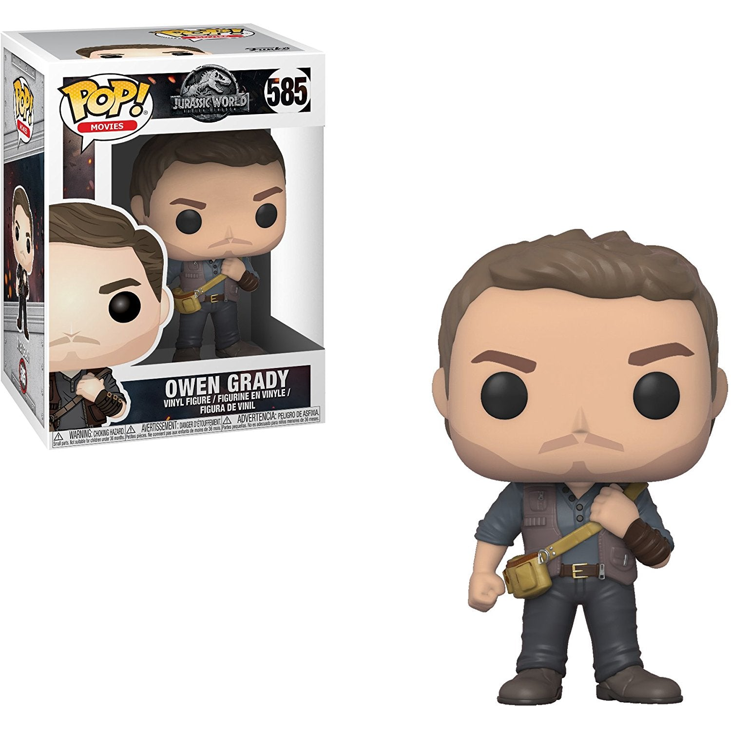 Owen Grady Funko Pop! Movies Jurassic World
