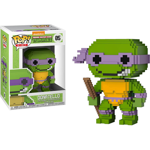 Donatello Funko Pop! 8-Bit Teenage Mutant Ninja Turtles