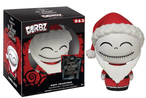 Santa Jack Skellington Funko Dorbz Nightmare Before Christmas
