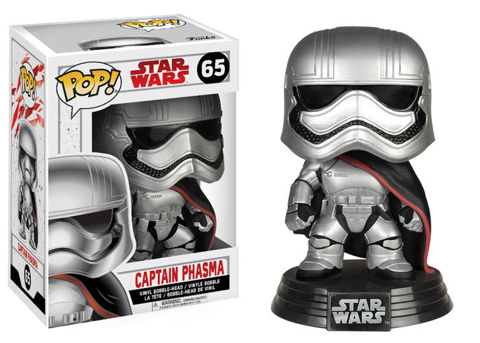Captain Phasma Star Wars The Last Jedi Funko Pop! Vinyl