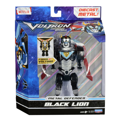 Black Lion Voltron The Legendary Defender Diecast Figure